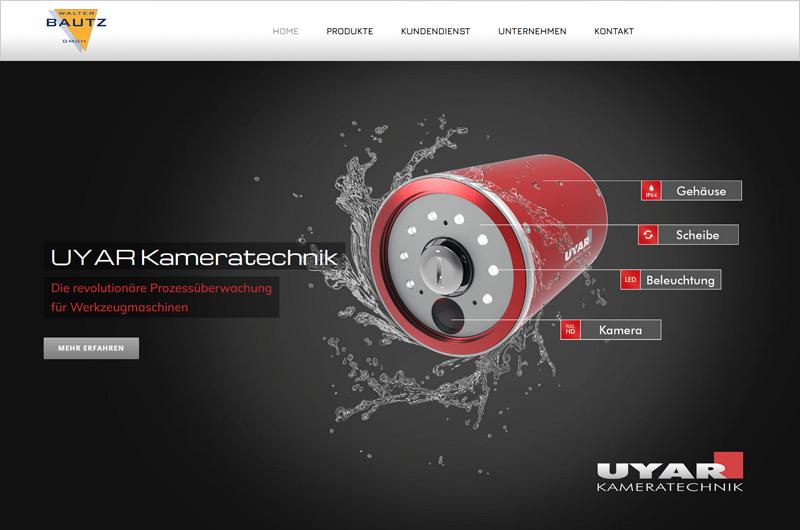 Website Walter Bautz GmbH